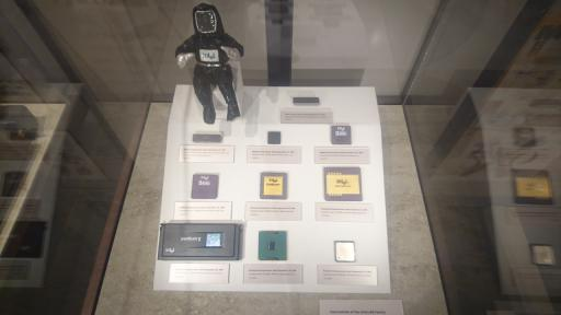 An assortment of Intel CPUs derived from the 8086 architecture.